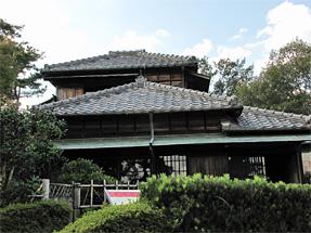 幸田露伴住宅「蝸牛庵」