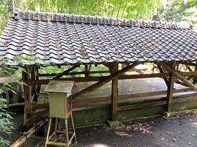 豊田佐吉の生家・井戸(水道)
