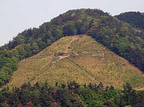 吉田山から見る大文字