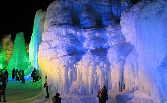 層雲峡・氷瀑まつり