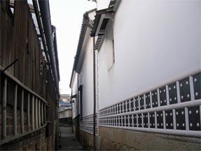 鞆の港の街並み