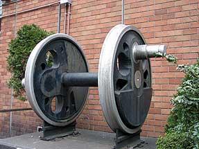 Cー58機関車の動輪