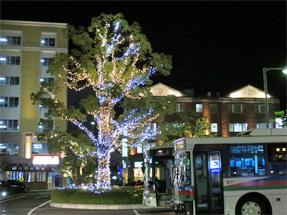 草津駅前・西口