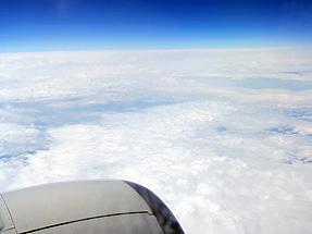 中部国際空港〜福岡空港への空路