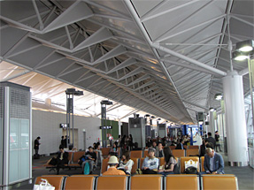 中部国際空港〜函館空港への空路