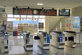 播州赤穂駅・改札