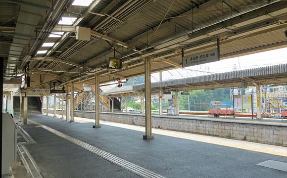 恵那駅・ホーム