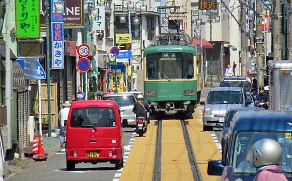 江ノ電・腰越駅