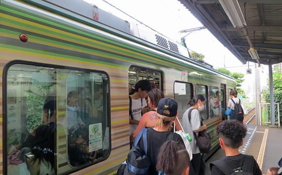江ノ電・由比ヶ浜駅