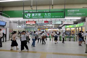 藤沢駅・改札口