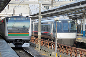 藤沢駅・ホーム