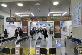 姫路駅・改札口