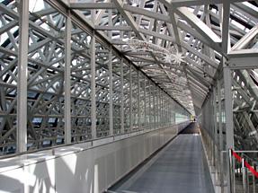 京都駅の中央コンコース上