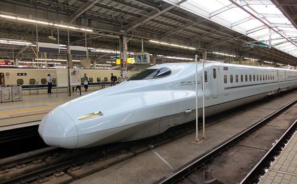 JR西日本新幹線・N700系みずほ