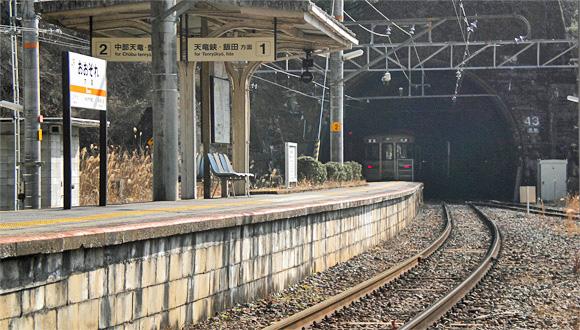 大嵐駅・大原トンネル