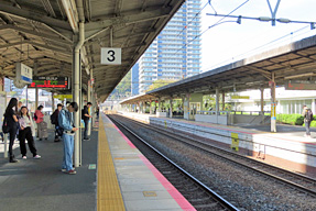 大津駅・ホーム