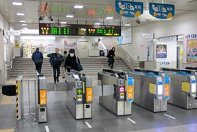 尾張一宮駅・ホーム