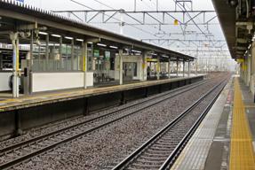 尾張一宮駅・東海道本線