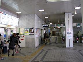 桜井駅・近鉄改札口