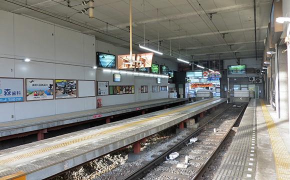 嵐電・四条大宮駅