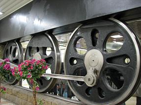 東京駅・C62形蒸気機関車の動輪