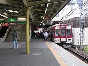 津駅・近鉄ホーム