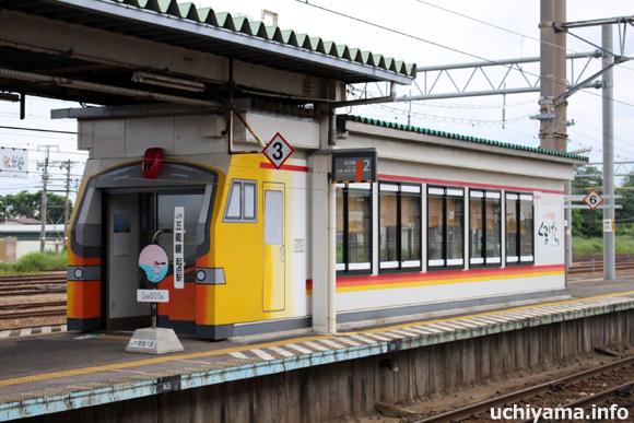 五能線の起点駅・東能代駅