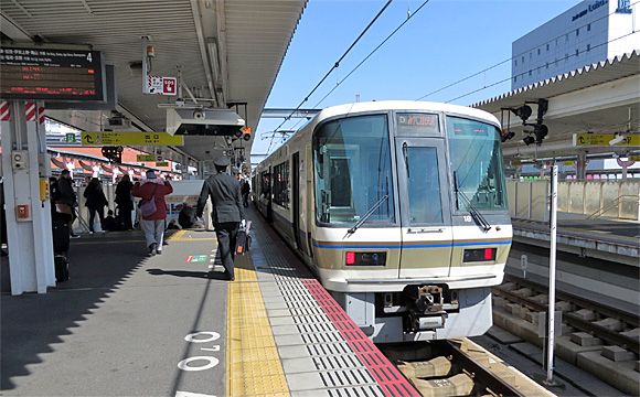 みやこ路快速・下り(京都〜奈良)