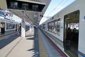 みやこ路快速・上り(奈良駅)