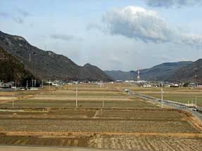 山陽新幹線・車窓風景