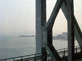瀬戸大橋線・車窓風景