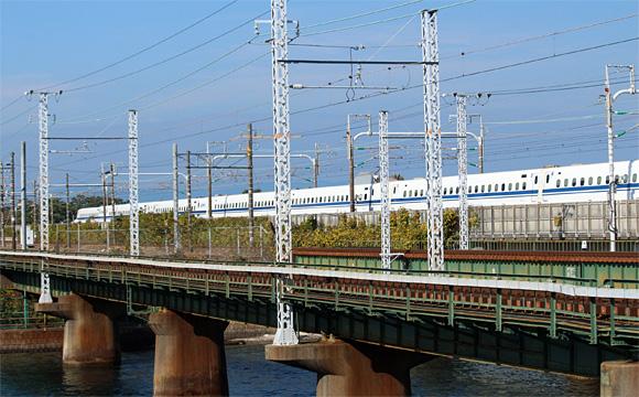 東海道新幹線・浜松駅