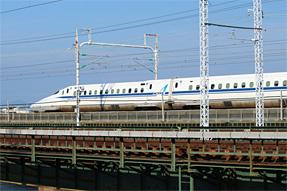 東海道新幹線・浜名湖鉄橋