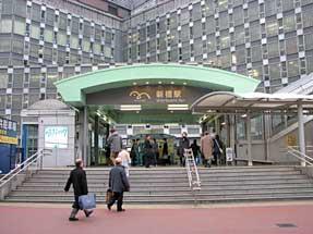 ゆりかもめ・新橋駅
