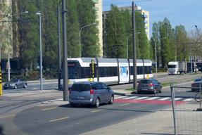 アントワープの路面電車
