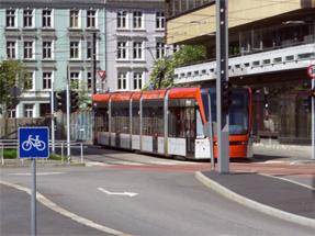 ベルゲンの路面電車