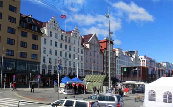 ベルゲンの市街
