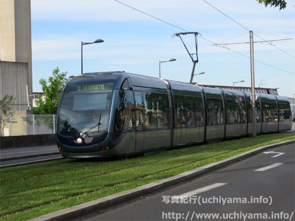 ボルドーの路面電車