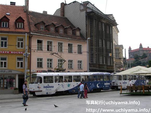 ブラチスラバの路面電車