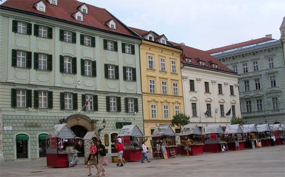 ブラチスラバの市街