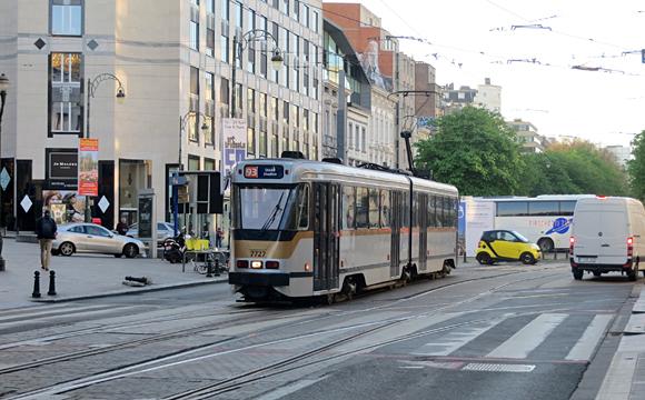 ブリュッセルの路面電車