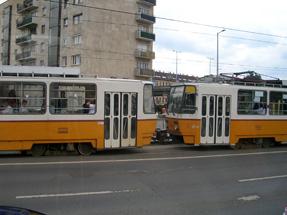 ブダペストの路面電車