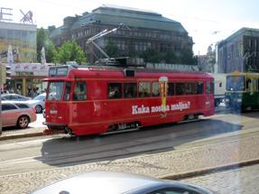 ヘルシンキの路面電車