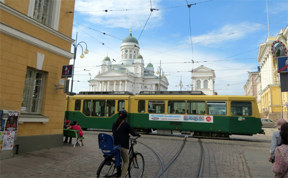 ヘルシンキの市街