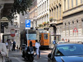 ミラノの路面電車