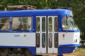 リガの路面電車