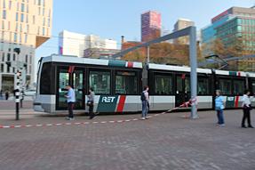 ロッテルダムの路面電車