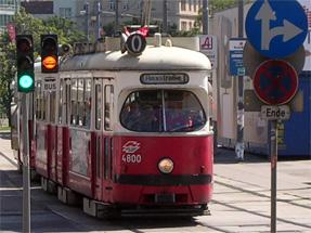 ウィーンの路面電車