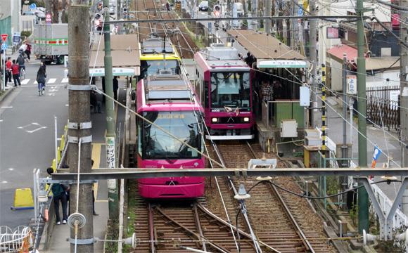 都電「荒川線」・町屋駅