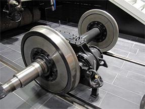 新幹線(0系)の車輪